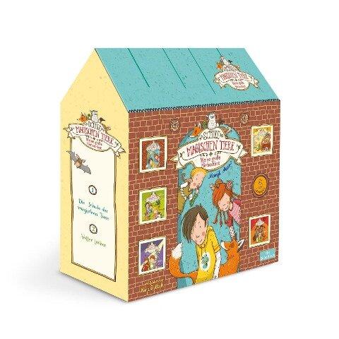 Die Schule der magischen Tiere - Meine große Hörbuchbox - Margit Auer