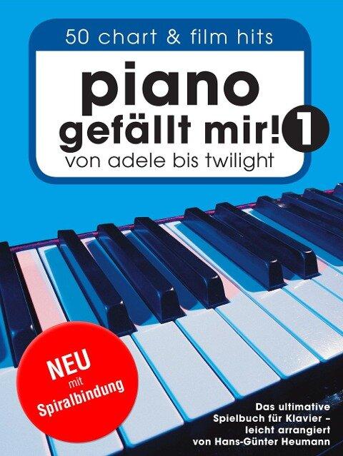 Piano gefällt mir! Band 1 mit Spiralbindung - Hans-Günter Heumann