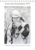 Feuerwehr-Terminplaner (Tischkalender 2017 DIN A5 hoch) - Reinhold Werner