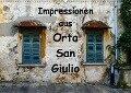 Impressionen aus Orta San Giulio (Wandkalender 2019 DIN A2 quer) - Gabi Hampe