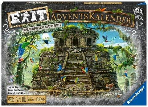 EXIT Adventskalender - Der verborgene Mayatempel - 24 Rätsel für EXIT-Begeisterte ab 10 Jahren -