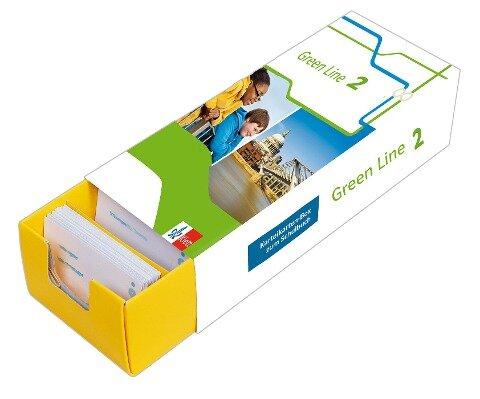 Vokabel-Lernbox zum Schulbuch.Green Line 2 Bayern Klasse 6 -