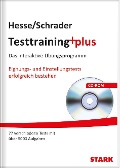 Testtraining plus. CD-ROM - Jürgen Hesse, Hans Christian Schrader