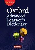 Oxford Advanced Learner's Dictionary B2-C2. Wörterbuch (Kartoniert) -