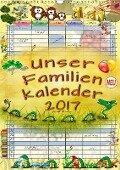 Unser Familienkalender 2017 (Wandkalender 2017 DIN A3 hoch) - Peter Roder
