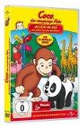 Coco, der neugierige Affe Teil 1. Allein im Zoo und andere tierische Geschichten -
