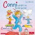 Conni schläft im Kindergarten / Conni geht in den Zoo - Liane Schneider