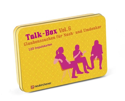 Talk-Box Vol. 6 - Glaubenssachen für Nach- und Umdenker - Claudia Filker, Hanna Schott