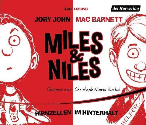 Miles & Niles 01. Hirnzellen im Hinterhalt - Jory John, Mac Barnett