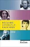 Reclams Literatur-Kalender 2018 -