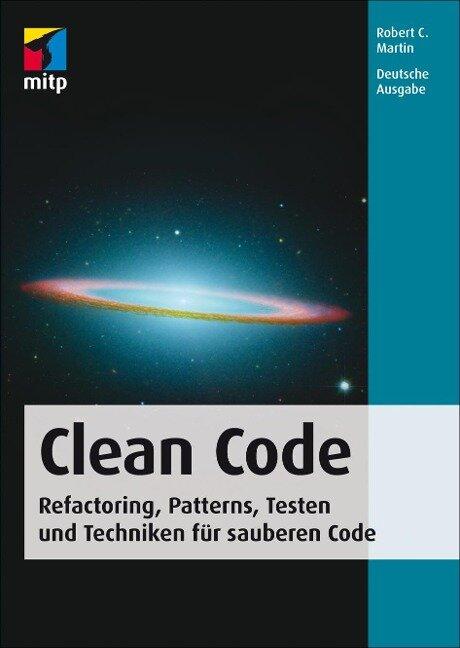 Clean Code - Deutsche Ausgabe - Robert C. Martin