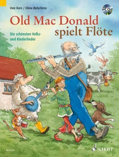 Old Mac Donald spielt Flöte - Uwe Korn, Elena Malycheva