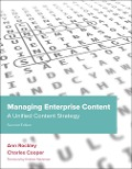 Managing Enterprise Content - Ann Rockley, Charles Cooper
