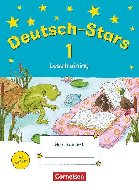 Deutsch-Stars 1. Schuljahr. Lesetraining -