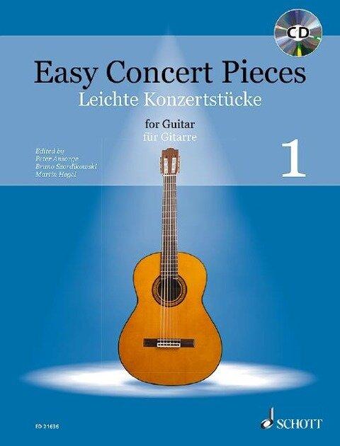 Easy Concert Pieces. Band 1. Gitarre. Ausgabe mit CD -