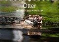 Otter - Jäger an Flüssen und Seen (Wandkalender 2018 DIN A3 quer) - Cloudtail The Snow Leopard