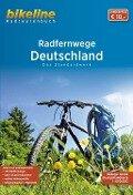 Bikeline Radtourenbuch Deutschland RadFernWege -