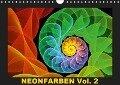 Neonfarben Vol. 2 / CH-Version (Wandkalender 2019 DIN A4 quer) - Gabiw Art