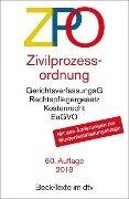 Zivilprozessordnung - ZPO -