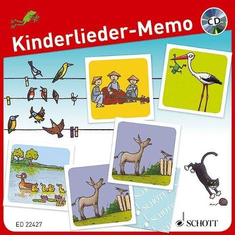 Kinderlieder-Memo -