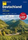 ADAC Reiseatlas Deutschland, Europa 2019/2020 1:200 000 -