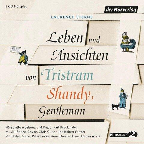 Leben und Ansichten von Tristram Shandy, Gentleman - Laurence Sterne