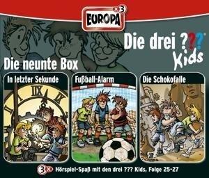 Die drei ??? Kids. 3er Box Folgen 25 - 27 (drei Fragezeichen) 3 CDs - Boris Pfeiffer, Ulf Blanck