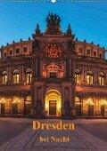 Dresden bei Nacht (Wandkalender 2019 DIN A2 hoch) - Gunter Kirsch