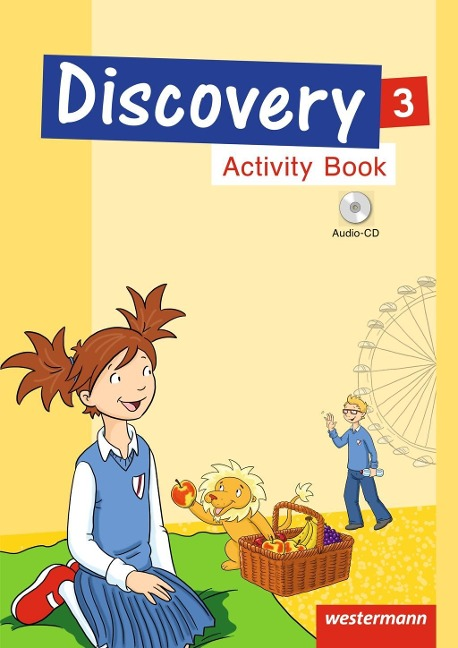 Discovery 1 - 4. Activity Book 3 mit CD -