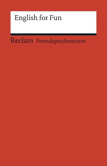 English for Fun - Andrew Williams, Ruth Kletzander