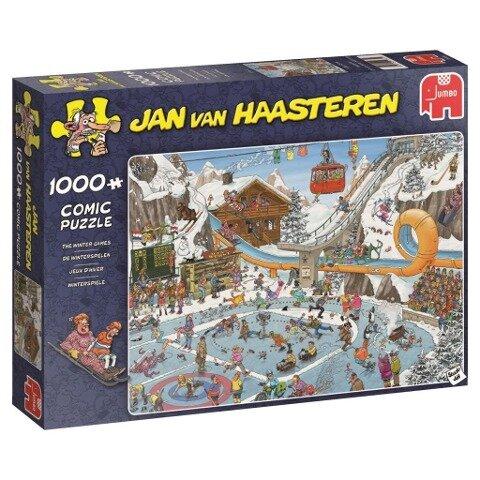 Jan van Haasteren - Die Winterspiele - 1000 Teile Puzzle -
