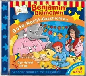 Benjamin Blümchen Gute-Nacht-Geschichten 32: Der Herbst ist da -