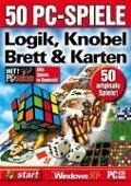 50 PC-Spiele Logik, Knobel, Brett und Karten. CD-ROM für Windows ab 98 -