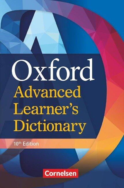 Oxford Advanced Learner's Dictionary. B2-C2 - Wörterbuch (Festeinband) -