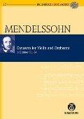 Konzert e-Moll - Felix Mendelssohn Bartholdy