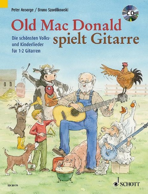 Old Mac Donald plays Guitar -