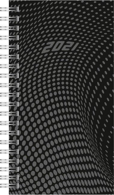 rido Taschenkalender 2021 , Modell Timing 2 schwarz -