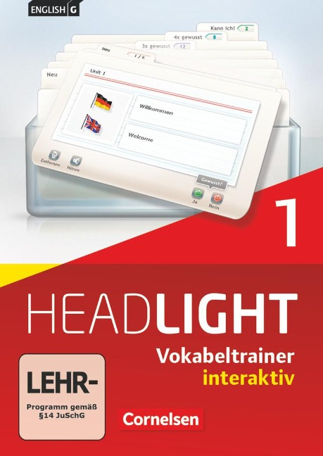 English G Headlight 01: 5. Schuljahr. Vokabeltrainer interaktiv -