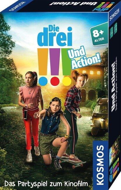 Die drei !!! Und Action! Mitbringspiel zum Film (drei Ausrufezeichen) -