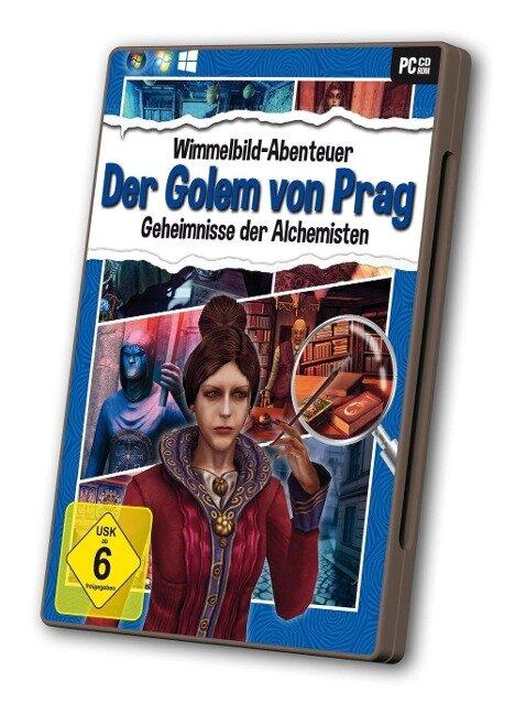 Wimmelbild - Der Golem von Prag -