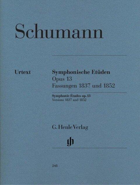 Symphonische Etüden op. 13 - Robert Schumann