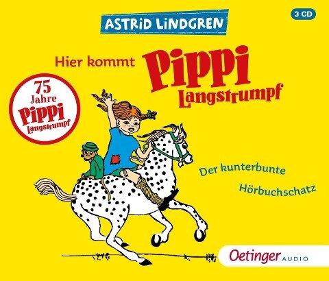 Hier kommt Pippi Langstrumpf! - Astrid Lindgren, Kay Poppe