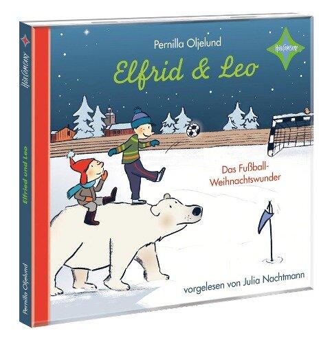 Elfrid und Leo - Das Fußballweihnachtswunder - Pernilla Oljelund
