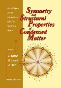 Symmetry And Structural Properties Of Condensed Matter, Proceedings Of The 7th International School On Theoretical Physics (Sspcm 2002) -