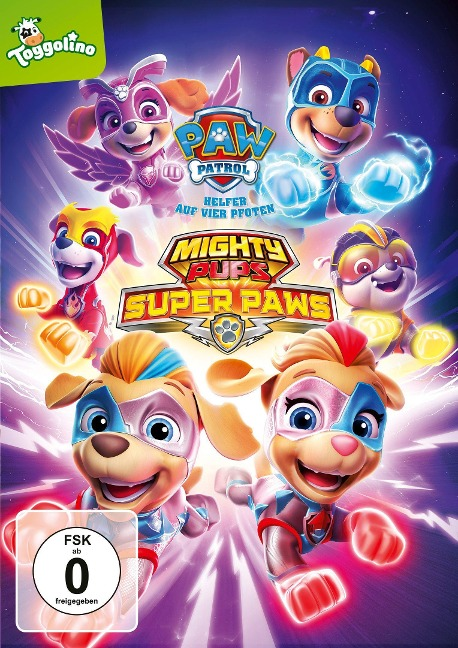 Paw Patrol: Mighty Pups Super Paws -