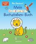 Mein kunterbuntes Buchstaben-Buch. Spielerisch die Buchstaben von A bis Z lernen - Nico Sternbaum