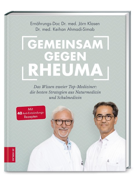Gemeinsam gegen Rheuma - Jörn Klasen, Keihan Ahmadi-Simab