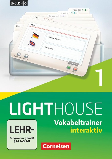 English G LIGHTHOUSE 01: 5. Schuljahr. Vokabeltrainer interaktiv - Frank Donoghue, Susan Abbey