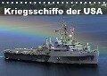 Kriegsschiffe der USA (Tischkalender 2017 DIN A5 quer) - Elisabeth Stanzer