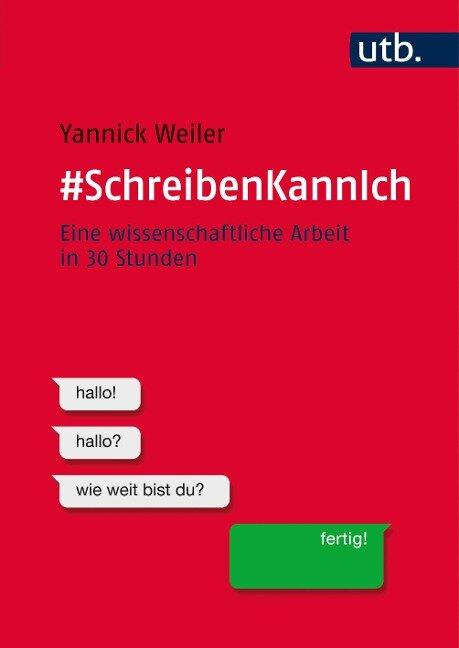 #SchreibenKannIch - Yannick Weiler